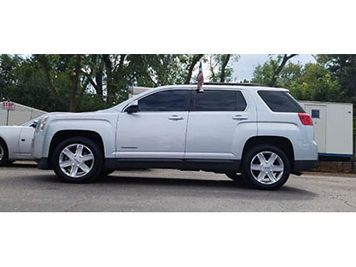 12 GMC TERRAIN SLT AWD All Premiums Black Glass Alloys Local Trade Se Habla Espanol 630-469-886