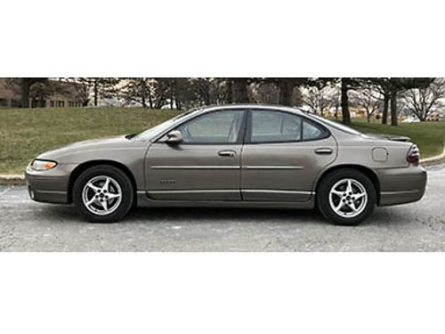 02 PONTIAC GRND PRX GTP Power Loaded Leather Moonrf CD Always Reliable Garage Kept Excellent C