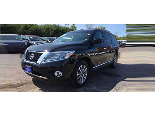 13 NISSAN PATHFINDER AWD Only 57870 Miles Remote Keyless Entry 3rd Row Dual Climate Control All