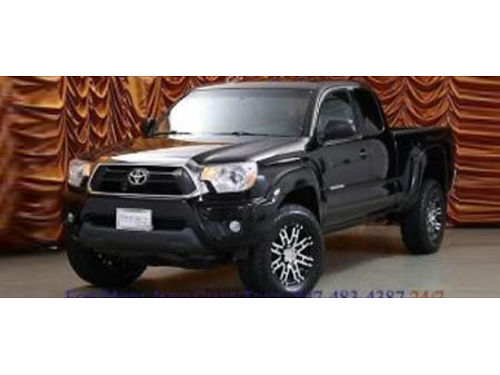 15 TOYOTA TACOMA V6 One Owner Dark Knight Package LOW PRICE Se Habla Espanol 877-458-4450 4727