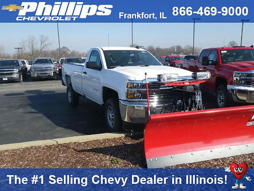 17 CHEVY SILVERADO 2500 4X4 Brand New 6 Speed Automatic Ready To Earn Its Keep