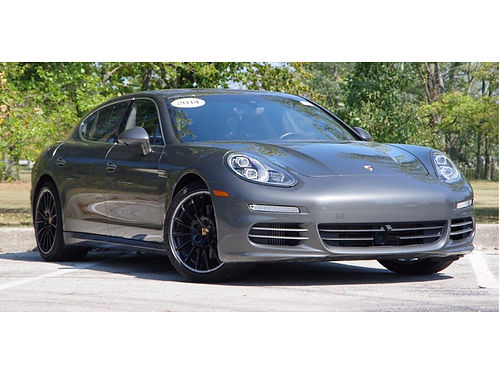 15 PORSCHE PANAMERA One Owner Low Miles Clean CarFax Navi Heated Leather Mo