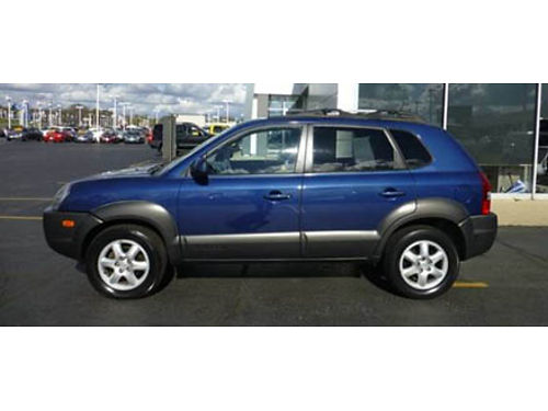 05 HYUNDAI TUCSON GLS Clean Leather Good Miles Power Options Call With Confidence Se Habla Espa