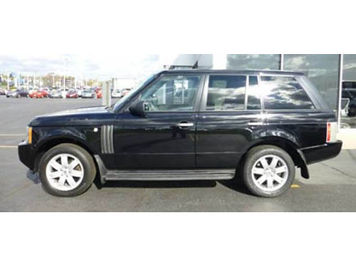 06 LAND ROVER RANGE ROVER HSE 4X4 Navigation Leather Loaded With Options HarmonKardon Audio Sun