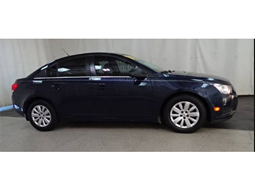 11 CHEVY CRUZE LS Only 46000 Miles Fully Loaded Ultra Clean Local Trade Goldcheck Warranty Se
