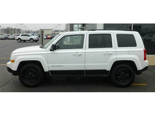 15 JEEP PATRIOT SPORT Only 34K Miles Smart Buy All The Right Options Call With Confidence Se Hab