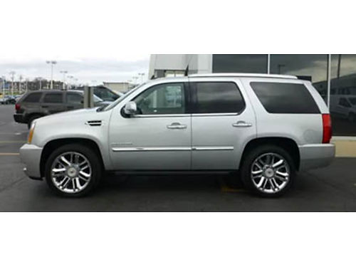 11 CADILLAC ESCALADE AWD Low Miles Platinum Edition Navigation Sunroof Luxury Loaded Call With