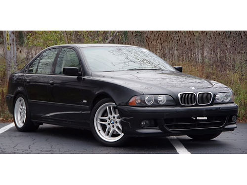 03 BMW 540I V8 Rare Find Low Miles Heated Leather Moonroof Dual Climate Cont