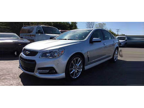 15 CHEVY SS Loaded With Navigation Leather Interior Premium Audio CD And More 866-695-2321 C704
