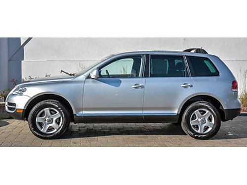 06 VW TOUAREG AWD Low Miles Sunroof Leather Power Nice 855-875-8075 DG735A 9980