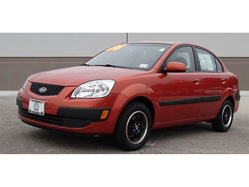 08 KIA RIO SEDAN Low Low Low Miles Stand Out Pass The Pumps Legendary Reliability Ask For Vlad