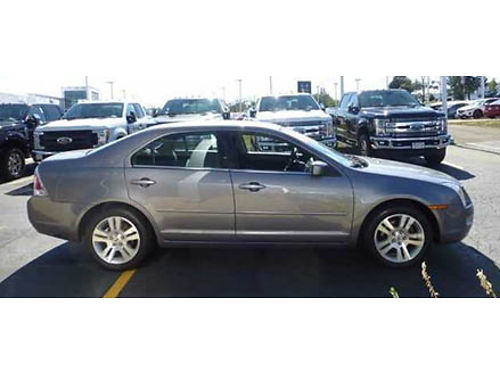 06 FORD FUSION SEL Awesome Low Miles V6 Premium Seats Moonroof Upgraded Alloys Local Trade 866