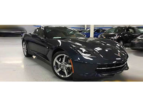 15 CHEVY CORVETTE COUPE 62L V8 Less Then Good Miles Navigation Heated Leather Bose Premium Audio