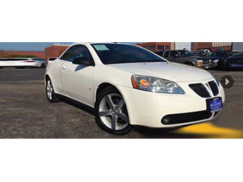 08 PONTIAC G6 GT CONVT Its Cold Now But Time Flies Be Ready Remote Keyless Entry CD And Priced T