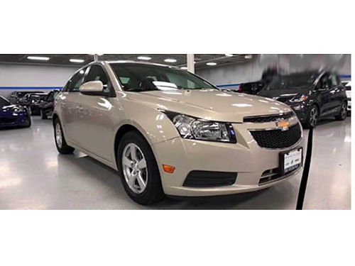 12 CHEVY CRUZE 1LT Low Miles OnStar Ready Remote Keyless Entry Bluetooth CD And More 866-695-2