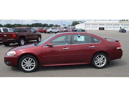 11 CHEVY IMPALA LTZ Premium Leather Premium Alloys Sunroof Every Possible Upgrade Local Trade M