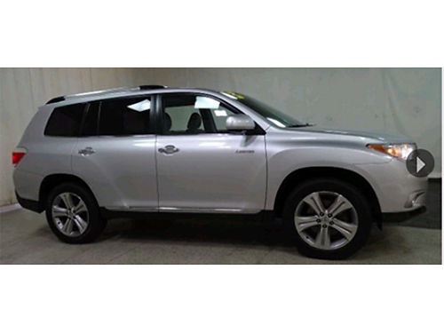 13 TOYOTA HIGHLANDER LTD AWD Low Miles Limited One Owner 3rd Row Toyota Certified Se Hable Espa