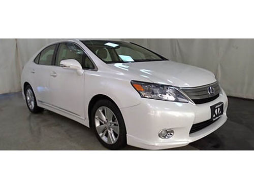 10 LEXUS 250HS HYBRID Hard To Find Hybrid Leather Good Low Miles Local Trade Gold Check Warrant