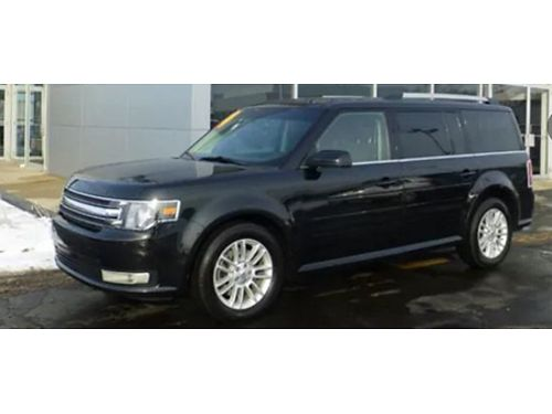 14 FORD FLEX SEL AWD Ford Dealer Ford Inspected Leather Moonroof AWD Good Miles Se Habla Espan