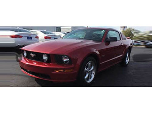 07 FORD MUSTANG COUPE V8 Only 17890 Miles In Excellent Condition Super Sporty And Fun To Drive