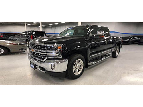 16 CHEVY SILVERADO 1500 LTZ Certified Black On Black In Excellent Condition 866-695-2321 C17568A