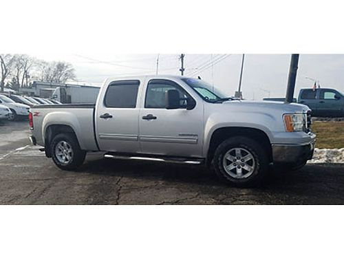 11 GMC SIERRA 1500 CREW 4X4 Well Well Kept Fully Loaded 4X4 Good Miles Se Habla Espanol 630-46