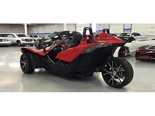 15 POLARIS SLINGSHOT 120 Miles Hot Very Sought After 3Wheeler Barley Driven A Must See 866-695