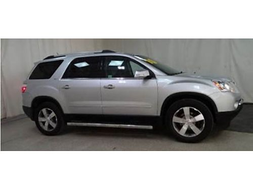 10 GMC ACADIA SLT1 3rd Row Leather Moonroof One Owner Gold Check Warranty Se Hable Espanol Was