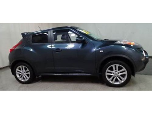12 NISSAN JUKE SL AWD One Owner Navigation Moonroof Remote Start AWD Leather Gold Check Warran