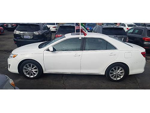 12 TOYOTA CAMRY Just In Perfect Local Trade Great Low Toyota Miles  Low Low Price Se Habla Espa