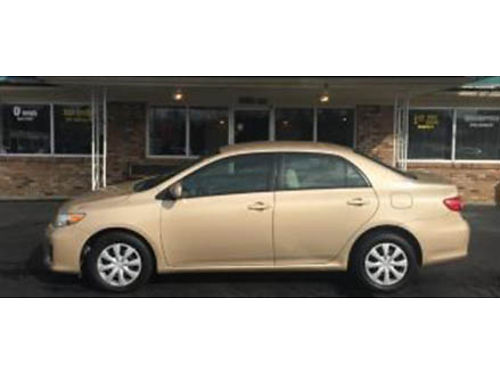 11 TOYOTA COROLLA LE Hard To Find This Nice Local Trade Low Price Fully Loaded Se Habla Espanol