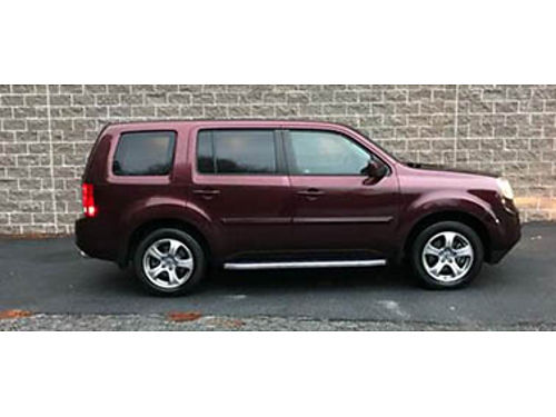 12 HONDA PILOT EXL 4WD Leather Sunroof Local Trade Low Price Call For Details Se Habla Espanol
