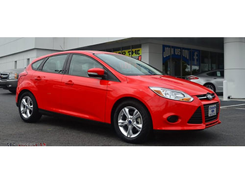 14 FORD FOCUS HATCH One Owner Sunroof Good Low Ford Miles Local Trade Ford Dealer Ford Inspecte