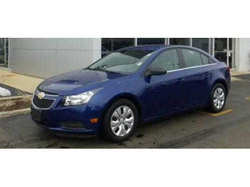 12 CHEVY CRUZE LS Local Trade Very Well Kept Good Miles Fully Loaded Low Priced Se Habla Espano