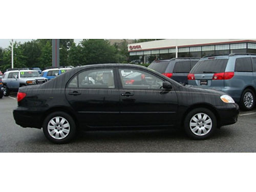 04 TOYOTA COROLLA One Owner Clean Carfax Legendary Reliability Local Trade Full Power Loaded Ag