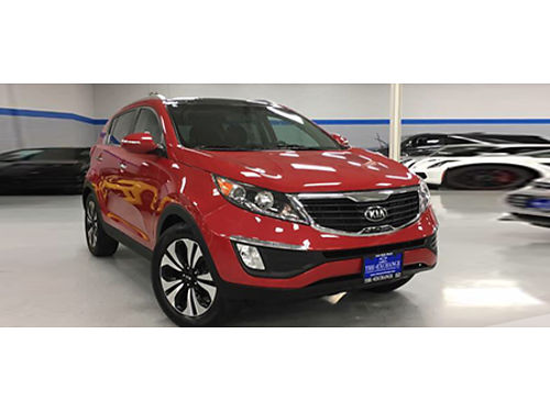 13 KIA SPORTAGE SX Low Miles Very Clean Call With Confidence 866-695-2321 CP2522 11995