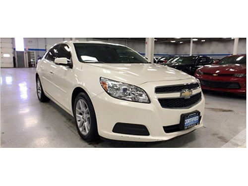 13 CHEVY MALIBU 1LT Only 36924 Miles Remote Keyless Entry Premium Cloth Int CD  More 866-695-2