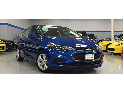 16 CHEVY CRUZE LT Only 11126 Miles Certified Save On Gas  Save Some Cash Great On MPGs 866-695