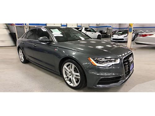 15 AUDI A6 30T PRESTIGE Fully Loaded Every Imagineable Option Stunning Good Looks Too 866-695-23