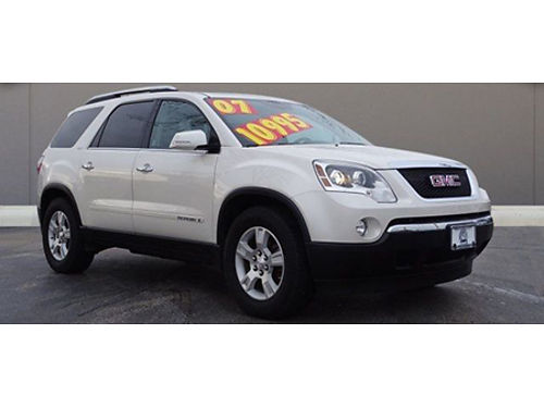 07 GMC ACADIA SLE Stunning One Owner Climate Leather Moonroof All Upgrades Local Truck 866-399
