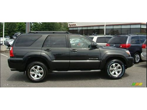 08 TOYOTA 4RUNNER 4WD Extremely Well Kept Fully Loaded Sport 4WD Legendary Reliability Se Hable