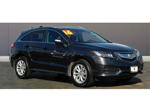 16 ACURA RDX AWD Only 25000 Miles Luxury AWD Local Trade Low Price Call Fast 855-275-6864 588
