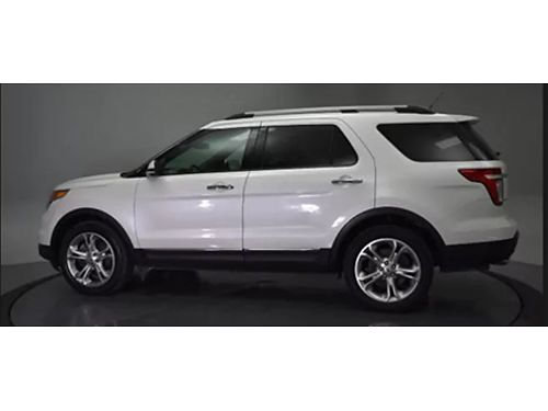14 FORD EXPLORER LTD 4WD One Owner Leather Sunroof Limited Luxury 4x4 Local Trade Se Hable Esp