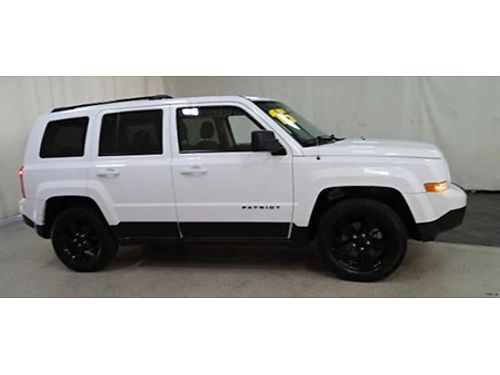 15 JEEP PATRIOT ALTITUDE Only 33000 Miles One Owner Only 33000 Miles One Owner Jeep Factory Wa