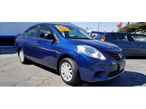 14 NISSAN VERSA SV Legendary Reliability Loaded With Tech Features All Power Equipment Ultra Clea