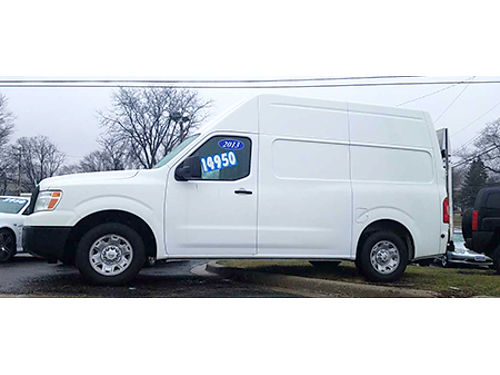 13 NISSAN NV2500 Local Trade Great Miles Extendable Rear Ramp Must See WOW Rare Se Habla Espan
