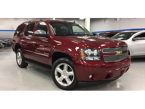 10 CHEVY TAHOE 1500 LTZ 4WD 53L V8 Loaded Navi HeatedCooled Leather Moonroof Rear Entertainme
