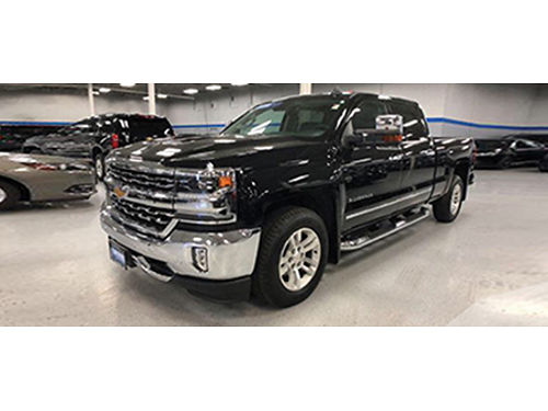 16 CHEVY SILVERADO 1500 LTZ Certified Black On Black In Excellent Condition 866-695-2321 C17568