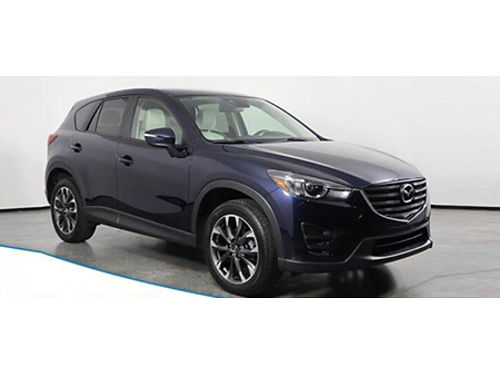16 MAZDA CX-5 AWD Grand Touring Clean CarFax One Owner Navi Heated Leather Moonroof Alloys  M