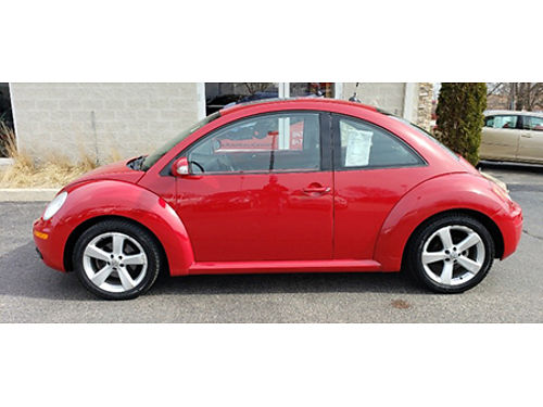 06 VW BEETLE COUPE Rare Red Local Trade Good Normal Miles Easy To Buy Se Habla Espanol 866-863-